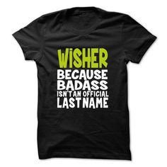 Awesome Tee WISHER BadAss T shirts
