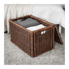 GABBIG Storage box, dark brown