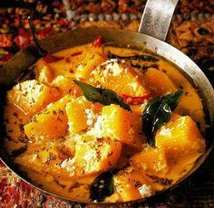 Pumpkin Curry Tofu