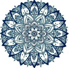 Inspiration mandala zentangle
