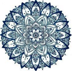 Inspiration mandala zentangle