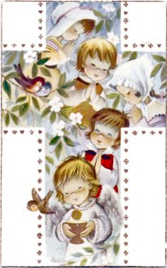 Juan Ferrándiz ilustrador español, especializado en cuentos infantiles y postales navideñas para descargar Vintage Christmas Cards, Vintage Cards, Vintage Postcards, Prayer For My Family, Catholic Easter, Old Rugged Cross, Madonna And Child, 3d Cards, Decoupage Paper