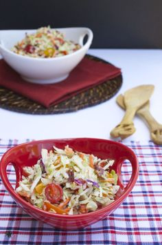 BLT Coleslaw. Perfect for any summer BBQ!