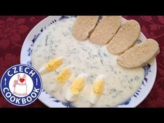 Czech Cookbook - Video Recipes in English  Dill Sauce Recipe – Koprová omáčka