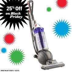 Shop Lowe's on Black Friday to get 25% off ALL Dyson vacuums!