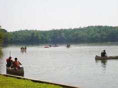 Canoes, Jon Boats, & Pedal Boats are able to be  rented when the Swimming Beach at Hard Labor Creek State Park opens up - May 17 2014. Only minutes from the Brady Inn in Madison Georgia