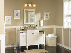 Lowes Bathroom for a Traditional Bathroom with a Bathroom Vanity and Classic Bath Packed with Storage Solutions by Lowe's Home Improvement