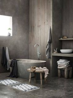 10 best Betonlook Verf Badkamer images on Pinterest