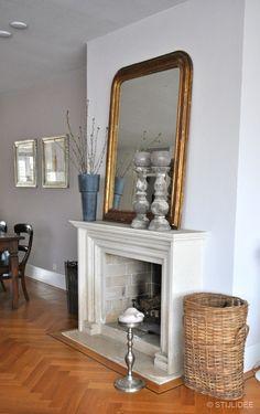 Binnenkijken in … een twee-onder-een-kapwoning in landelijk klassieke stijl in Leiderdorp via www.stijlidee.nl