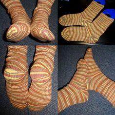 Cat Bordhi's Sweet Tomato Heels
