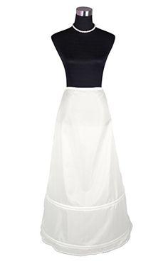 Flora 2 Hoop A-forme Jupon de mariée mariage/de bal jupe, mince complet: Amazon.fr: Vêtements et accessoires