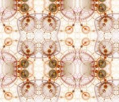 Charted Waters fabric by winter on Spoonflower - custom fabric