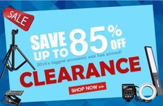 Clearance Products Up to 85%