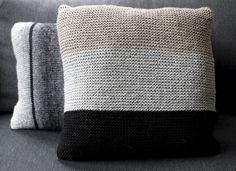 Ainaoikein tyynynpäällinen Novita Isoveli | Novita knits