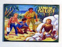 "Vintage LAND OF THE LOST  Lunchbox   2"" x 3"" Fridge MAGNET ART"