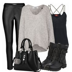 cheap for discount 30aec 06f24 Herbst-Outfits  CasualRock bei FrauenOutfits.de      stiefeletten  herbst   winter  frauenmode  damenmode  frauenoutfit  damenoutfit  fashion  mode   trend ...