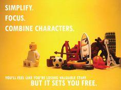 Pixar's Story Rules, Illustrated in Lego by ICanLegoThat   Slacktory