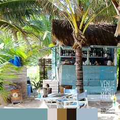 Lunchtime at the beach. Ceviche, here we come! #postcardfromTulum #mexigypsy #Venueandmenu