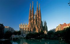 La Sagrada Familia, Barcelona.   Been there, And it was sooooo beautiful :-)