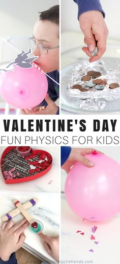 Get ready for the best Valentines Day science with a variety of easy to manage Valentines Day physics activities for us to test out today for simple science and STEM.