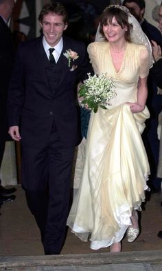 Emily Mortimer Marries Alessandro Nivola In London, January 2003