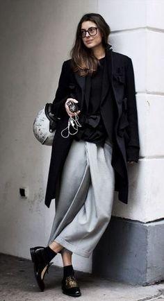 Paris--a sweatpants skirt pair of trousers?