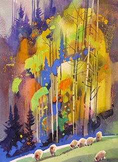 Stephen Quiller - something compelling about this unusual composition.