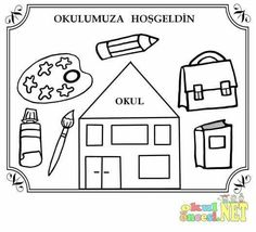 First Day Activities, First Day School, School Colors, Primary School, Early Childhood, Playground, Coloring Pages, Kindergarten, Preschool