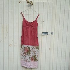 upcycled clothing / Funky Romantic Babydoll Tank by CreoleSha, $67.99