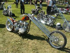 Old School Pan Choppers   panhead chopper norrtaelje custom bike show winner