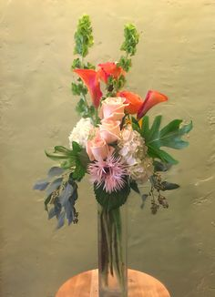 Contemporary floral design, by Stephanie at Bloom Floral and Gifts