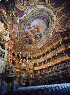The Bayreuth Festival Theatre, Germany