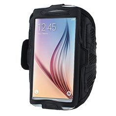 Phone arm band - TOOGOO(R)For Samsung Galaxy S6 S5 Sport Arm Band From Mobile Network New homes Black. Made of high quality material in lightweight nylon with a transparent protective plastic membrane for the screen. Case flexible and light bracelet, provide full protection for the phone and the screen edge. Convenient and secure protection during transit and during the exercises. The belt is adjustable and good feeling. Easily removable and washable.