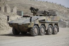 "German Army APC ""Boxer"" in Afghanistan (2012)"