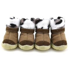 snowshoes for dogs | Chic-Pet-Doggie-Puppy-Anti-slip-Cotton-Boots-Cashmere-Dog-Snow-Shoes-5 ...
