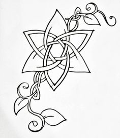 Celtic by AlizarinChaos - drawings_pintous Tattoos Skull, Cross Tattoos, Body Art Tattoos, Tatoos, Sleeve Tattoos, Celtic Patterns, Celtic Designs, Celtic Symbols, Celtic Art