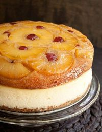 Pineapple Upside-Down Cheesecake CakeDelish
