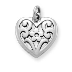Floral Heart Charm | James Avery