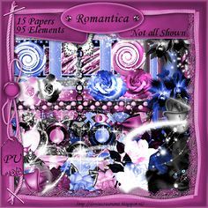 Scrapkit Romantica [Denise Creationz] - $2.20 : , Exclusive Scrapping Divas