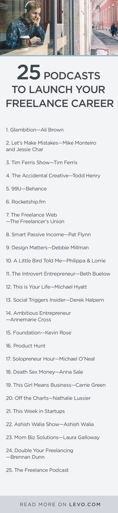 Find success in #freelance with Skillcrush's #freelancing #podcast list!