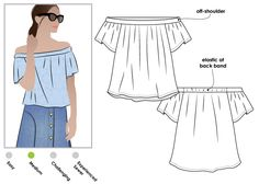 Cara Top - Stylearc