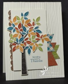 CT1012 - Beautiful Fall Tree by stampercamper - Cards and Paper Crafts at Splitcoaststampers