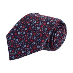 Barneys New York Jacquard Mini Floral Tie Sale up to 70% off at Barneyswarehouse.com