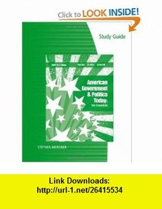 Study Guide for Bardes/Shelley/Schmidts American Government and Politics Today The Essentials 2009 - 2010 Edition, 15th (9780495572381) Barbara A. Bardes, Mack C. Shelley, Steffen W. Schmidt , ISBN-10: 0495572381  , ISBN-13: 978-0495572381 ,  , tutorials , pdf , ebook , torrent , downloads , rapidshare , filesonic , hotfile , megaupload , fileserve