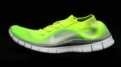 Are you obsessed with super lightweight running shoes? Check out the new Nike Free FlyKnit at Foot Locker—it has a second-skin fit!