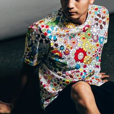 Vans Vault x Murakami Floral Tee In White/Multi | Available In-Store Tomorrow 6/27 At 11AM PST | $80 | Sizes XS-XXL | *WE WILL NOT BE RELEASING ANY OF THE SKATE DECKS* | @Vans @TakashiPom #Vans #Murakami #Feature #AllThingsGood #Vegas #Fashion