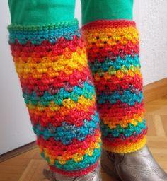 Beenwarmers (met link naar gratis patroon) / crochet legwarmers (with link to free pattern)