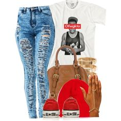 Untitled #4990, created by trillest-queen on Polyvore