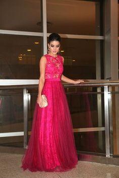 Camila Coelho-Alfreda-Long dress