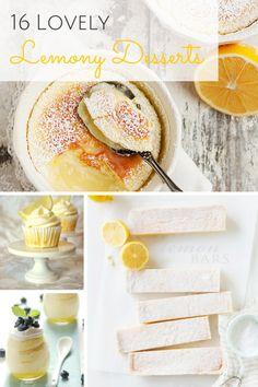 16 Lovely Lemony Des